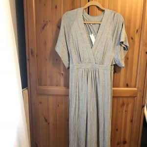 Grey Anthropologie Maxi Dress